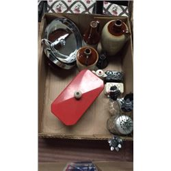 Box of Vintage Kitchen Items Miniatures
