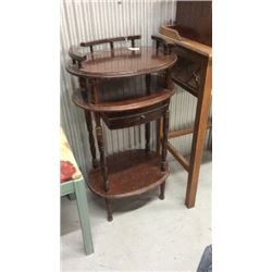 Small antique stand with drawers