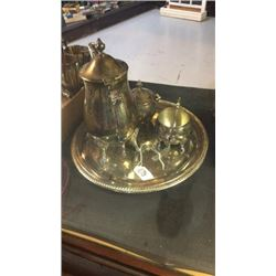 Silver Plate Set