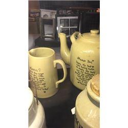 Cocoa and Tea Set 2pc