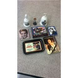 8 Elvis Collectibles