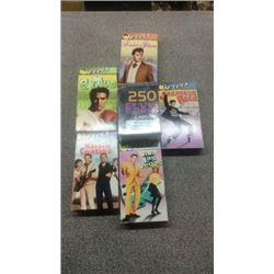 7 Elvis VHS Cassettes