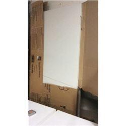 2 heavy metal doors 83 x 35 1/2 with frames
