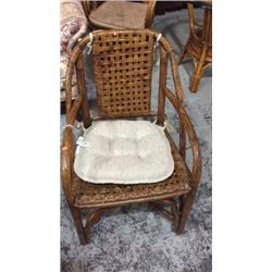 Wooden weave chair