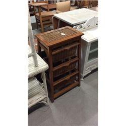 3 drawer basket shelf