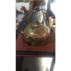 Cooper Tea Pot