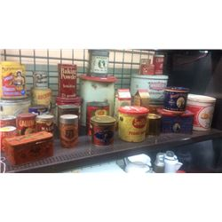 Lot of baking tins