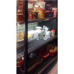 Lot of Glass & enamel kitchen ware