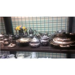 Lot of silver plated items