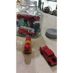 Jar of cars