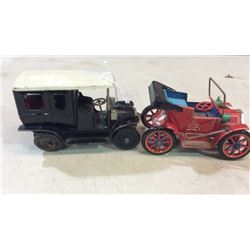 2 toy cars