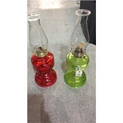 2oil lamps