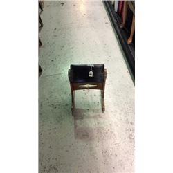 Rocker foot stool