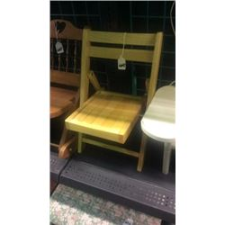 Folding doll chair