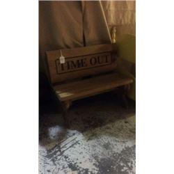 Doll bench