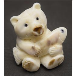 INUIT IVORY CARVING (BELL)