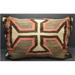 TWO NAVAJO PILLOWS