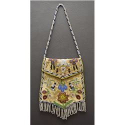 SANTEE SIOUX BEADED BAG