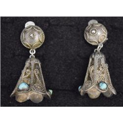 NAVAJO/MEXICAN EARRINGS