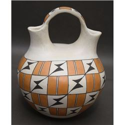 ACOMA POTTERY WEDDING VASE