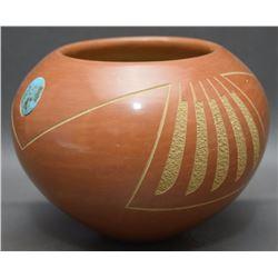 SAN ILDEFONSO POTTERY JAR (DA)