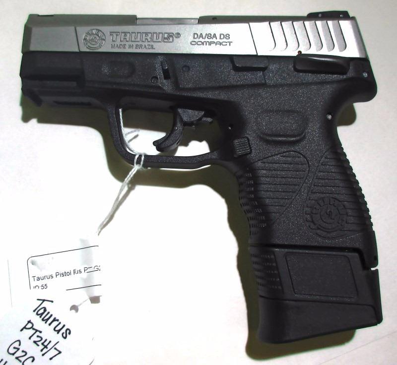 Taurus Pistol PT 24/7 G2C  45 Semi-Auto Pistol
