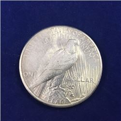 1928-S USA Silver Peace Dollar Coin ( San Francisco Mint)  - Lower Mintage