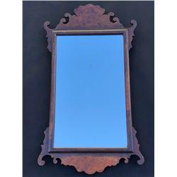 Late Victorian Queen Anne Style Mirror