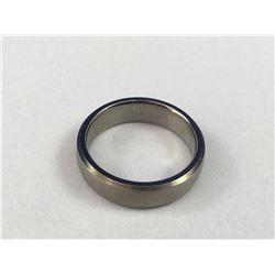 New Men's Titanium Wedding Band - Inside Diameter 18.50mm - Weight 2.98 Grams