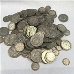 1 kilogram of Great Britain & New Zealand Silver Coins