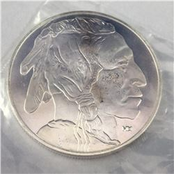UNC American 1oz Pure Silver Buffalo Bullion Round Coin
