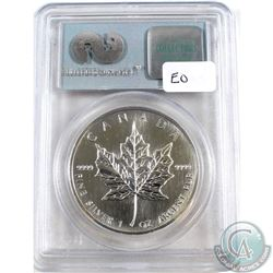 1989 Canada $5 Fine Silver Maple Leaf 9-11-01 WTC Ground Zero Recovery PCGS Certified Gem Uncirculat