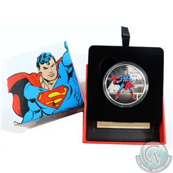 2016 Canada $20 DC Comics Originals - The Man of Steel Fine Silver Coin (TAX Exempt)