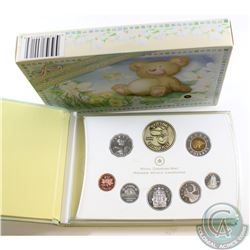 2006 Canada Baby Sterling Silver Proof Set with Medallion and Loon (Loon has a toning spot)