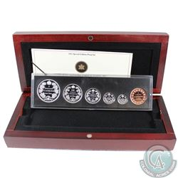 2011 Canada 6-coin 1911 Silver Dollar Centennial Special Edition Proof Set in Deluxe Display Case (H