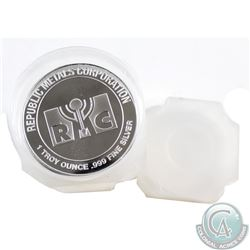 19x 1oz Republic Metals Corporation .999 Fine Silver Rounds. 19pcs (TAX Exempt)