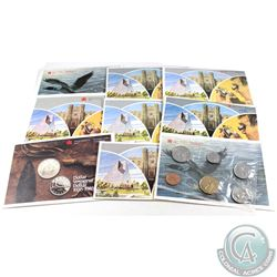 1980-1989 Canada Proof Like Sets. You will receive the following dates: 1980, 1981, 1982, 1983, 1984