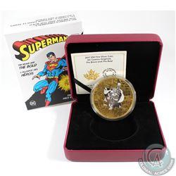 2017 Canada $50 DC Comics Originals - Brave & the Bold 3oz. Gold Plated Fine Silver Coin (Tax Exempt