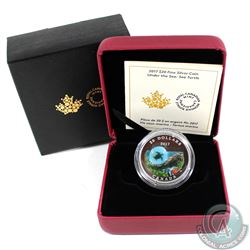 2017 Canada $20 Under the Sea - Sea Turtle Fine Silver Coin (Tax Exempt)