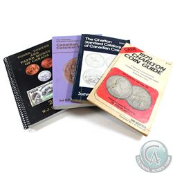 Lot of Charlton & Stanley Coin Catalogues. This lot includes the 1979 Charlton Coin Guide, 1982 Char