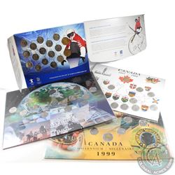 Lot of Canada Commemorative Coin Sets in Collector Boards. You will receive the 1992 25-cent & Loon