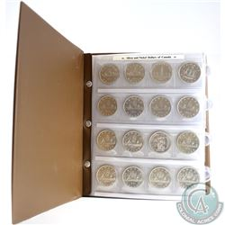 Estate Lot of Canadian Dollars in Uni-Safe Album. You will receive the following dates: 1935, 1937,