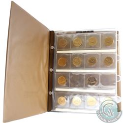 Estate Lot of Canadian $1 Collection in Uni-Safe Album. You will receive the following dates: 1988,