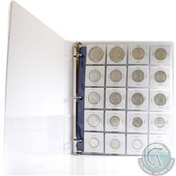 Estate Lot of Mixed Canadian Coins of King George VI (1937-1952). You will receive 17x 1-cent, 19x 5