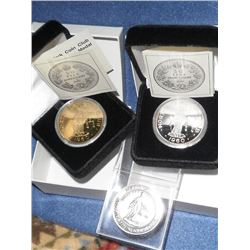 Numismatic Club Medals Lot of 3 North York Coin Club: 1986 NYCC/RCNA; 2010 2x NYCC 50th Anniversary