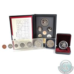Estate Sale on a 1993 Double Dollar Set, 1997 Proof Dollar, 1993 Stanley Cup Proof Dollar, and a 197
