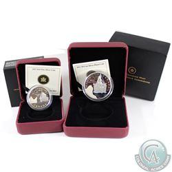2012 50-cent RMS Titanic & 2012 $10 RMS Titanic Coin Set. 2pcs.