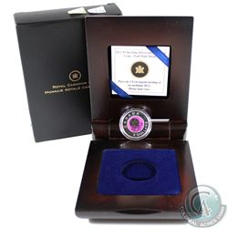 2012 Canada $5 Full Moons of the Algonquin - April Full Pink Moon Silver and Niobium Coin