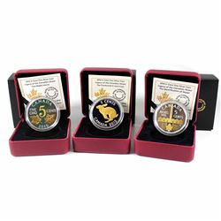 2015 Canada 5-cent Legacy of the Nickel Set (Tax Exempt). You will receive: The Centennial 5-cent, I