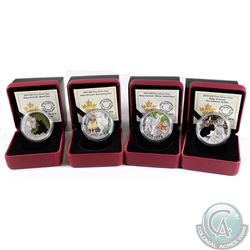 2014-2015 Canada $20 Baby Animals Fine Silver Coins (Tax Exempt). You will receive the following: 20